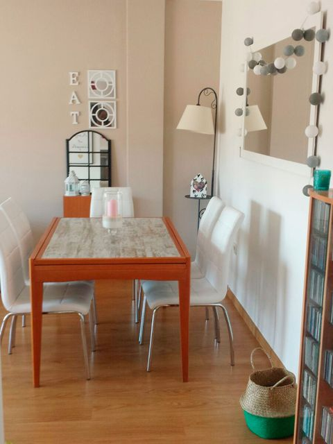 Room, Furniture, Floor, Property, Interior design, Table, House, Flooring, Wood flooring, Hardwood,