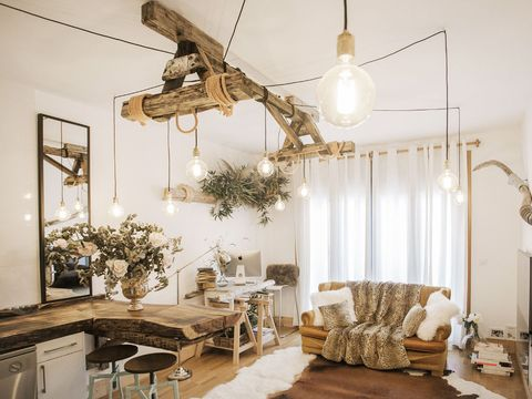 Lighting, Interior design, Room, Floor, Ceiling, Wall, Light fixture, Ceiling fixture, Interior design, Couch,
