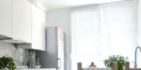 Wood, Room, Floor, Interior design, Property, Flooring, Home, Countertop, Major appliance, Kitchen appliance,