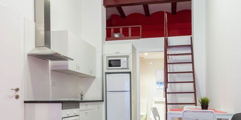 Vivir En Un Pequeno Apartamento Tipo Loft - Decoracion-de-loft-pequeos