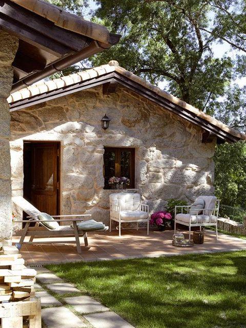 Las mejores casas de campo casas r sticas en pinterest for Ver jardines de casas pequenas