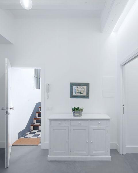 piso en valencia antes y después recibidor