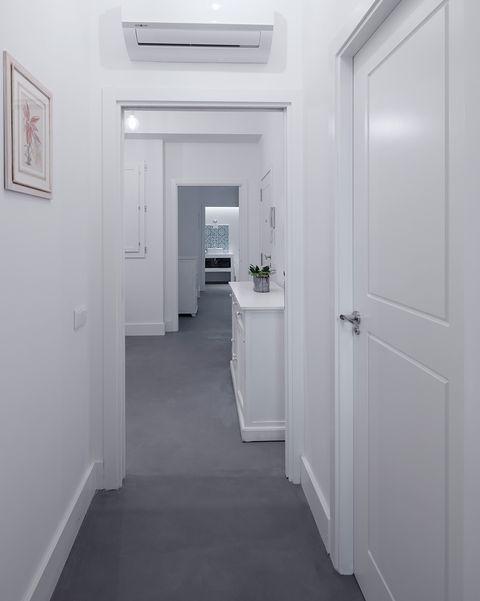 piso en valencia antes y después pasillo