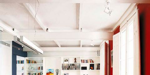 Wood, Interior design, Floor, Room, Flooring, Ceiling, Table, Wood flooring, Light fixture, Interior design,