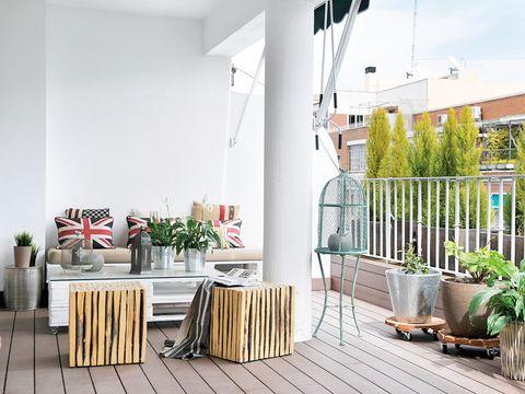 apartamento en madrid terraza