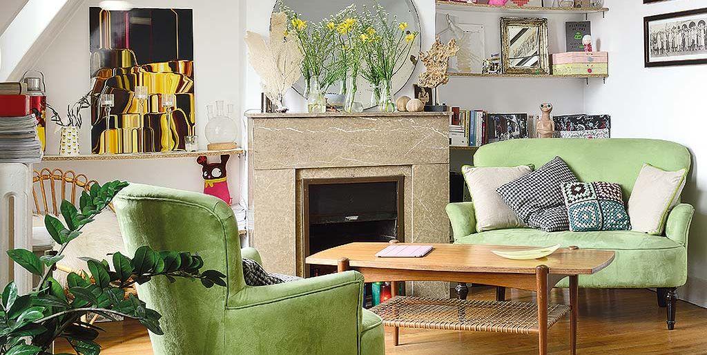Un apartamento decorado con un encantador estilo vintage - Casas decoracion vintage ...