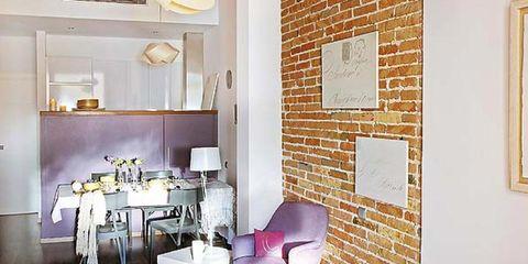 Room, Interior design, Wall, Table, Floor, Furniture, Living room, Dishware, Interior design, Ceiling,