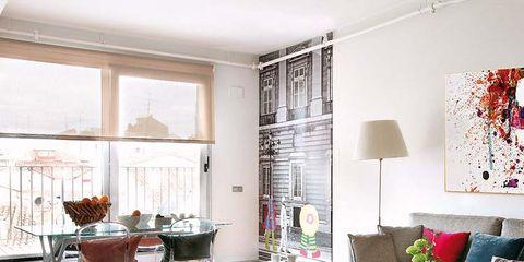 Room, Interior design, Furniture, Floor, Table, Home, Living room, Wall, Interior design, Flooring,
