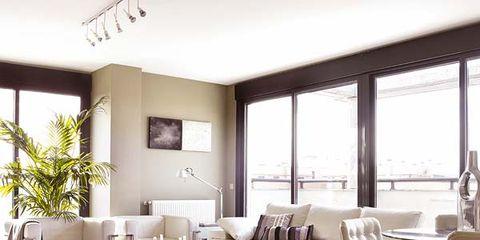 Floor, Room, Interior design, Wood, Living room, Flooring, Furniture, Home, Wall, Table,