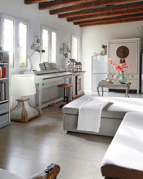 Room, Floor, Interior design, Flooring, Wood, Property, Home, Furniture, Wall, Drawer,