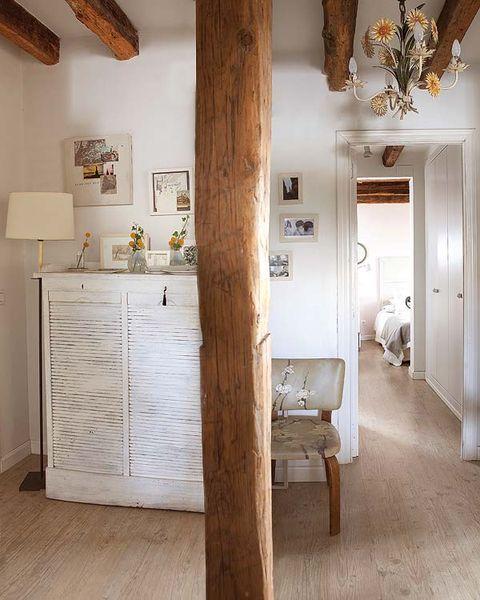 Wood, Floor, Room, Interior design, Flooring, Hardwood, Ceiling, Wall, Wood stain, Interior design,