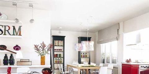 Room, Interior design, Floor, Flooring, Furniture, Table, Ceiling, Interior design, Home, House,