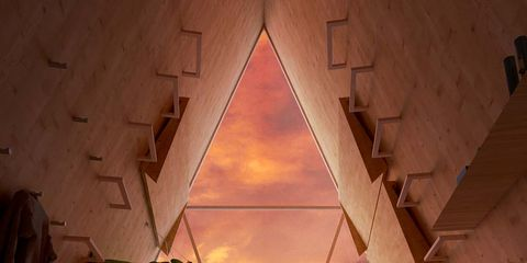 Room, Sky, Architecture, Tints and shades,