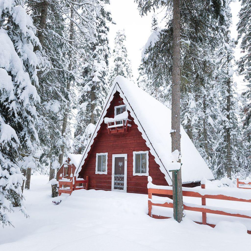 Fotos de invierno - Cabana invierno ...