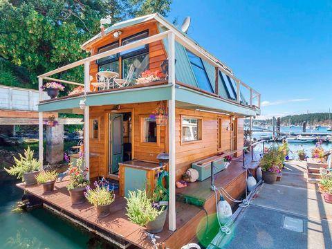 Plant, Flowerpot, Door, Houseplant, Water feature, Cottage, Landscaping, Bench, Yard,