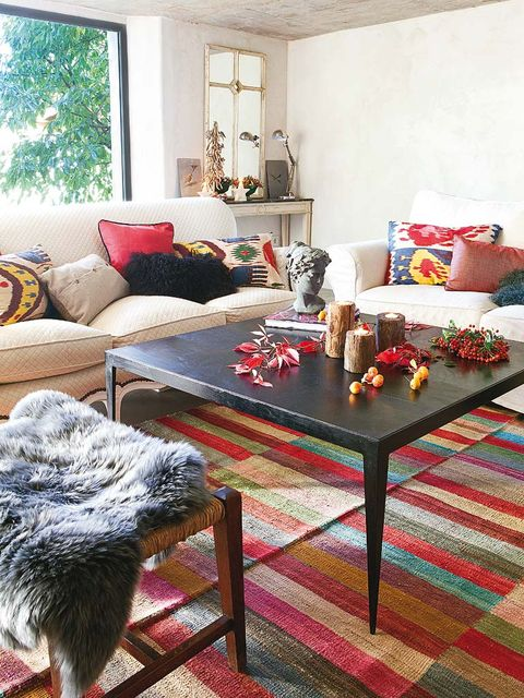 Room, Interior design, Table, Furniture, Living room, Home, Floor, Interior design, Flooring, Couch,