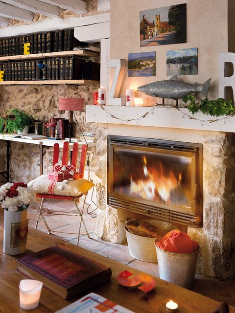 Hearth, Room, Interior design, Wall, Heat, Interior design, Flame, Gas, Fireplace, Fire,