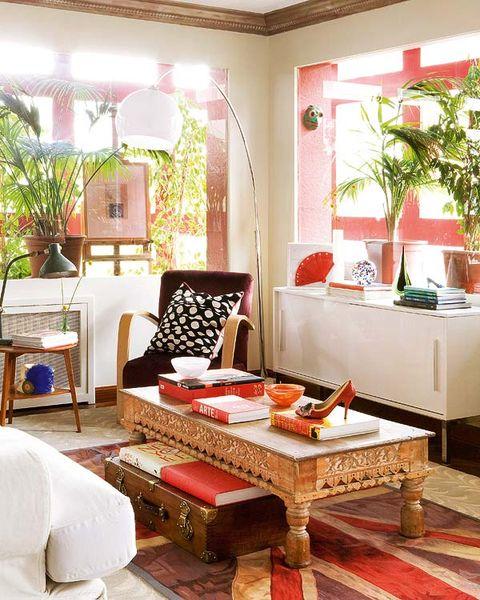 Room, Interior design, Lighting, Home, Furniture, Interior design, Floor, Ceiling, House, Orange,