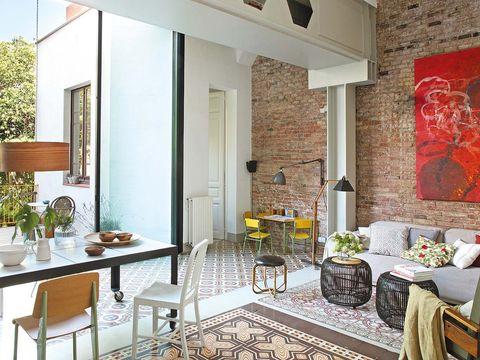 Una casa en Barcelona con jardín