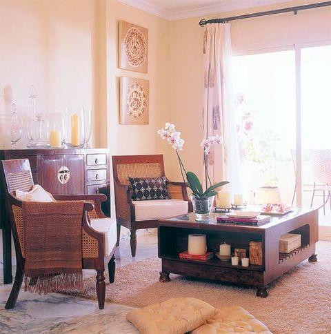 Room, Interior design, Floor, Flooring, Furniture, Table, Home, Interior design, House, Window covering,