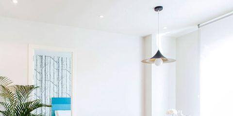 Room, Interior design, Floor, Flooring, Table, Flowerpot, Wall, Furniture, Ceiling, Interior design,