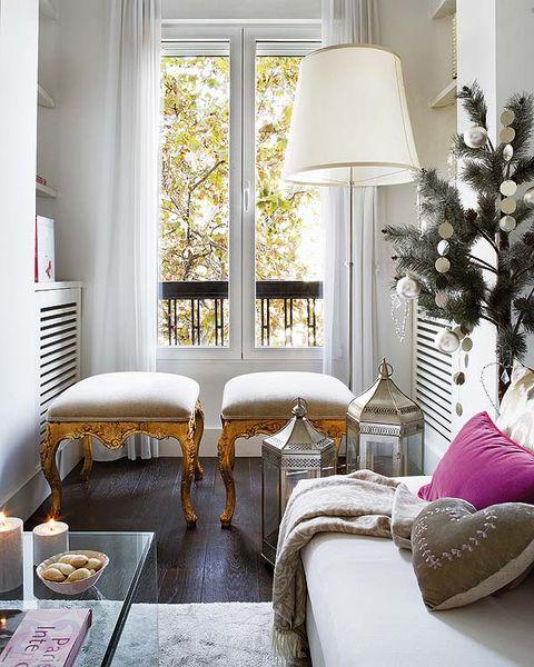 Interior design, Room, Home, Living room, Interior design, Floor, Wall, House, Lampshade, Window treatment,