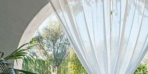 Textile, Interior design, Tablecloth, Flowerpot, Real estate, Linens, Interior design, Home accessories, Shade, Garden,