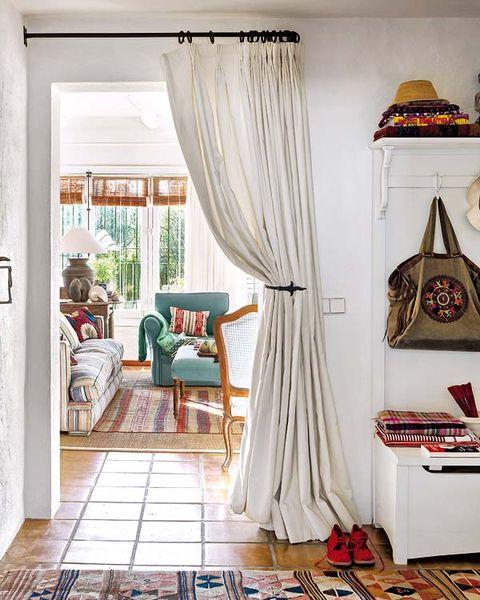 Interior design, Room, Floor, Textile, Flooring, Interior design, Window treatment, Home, Window covering, Fixture,