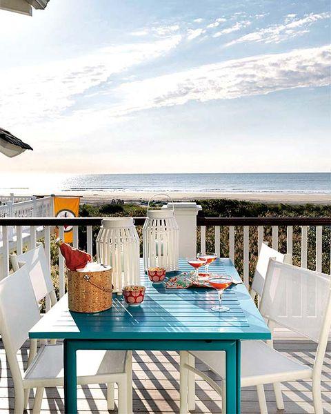 Casa de vacaciones en la playa