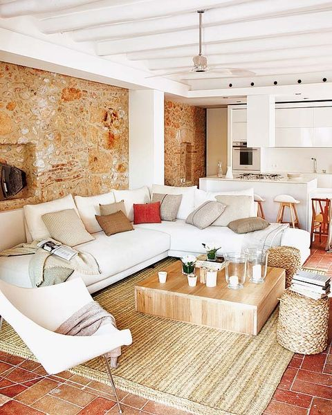 Interior design, Room, Floor, Living room, Wall, Home, White, Couch, Ceiling, Furniture,