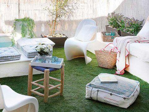 Casa en Barcelona con patio