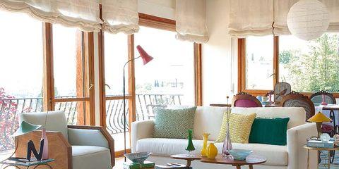 Una casa con acento vintage - Casas estilo vintage ...