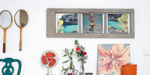 Room, Serveware, Pink, Teal, Dishware, Turquoise, Petal, Interior design, Aqua, Peach,