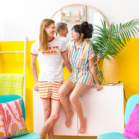 Clothing, Yellow, Orange, Summer, Shorts, Vacation, Leisure, Fun, Leg, Furniture,