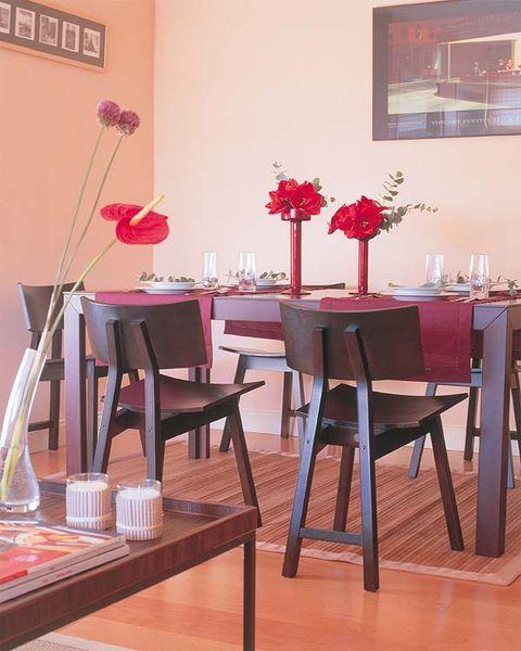 Wood, Room, Interior design, Floor, Furniture, Table, Flooring, Chair, Hardwood, Interior design,