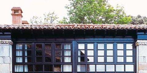 Property, House, Door, Building, Fixture, Home door, Sash window, Cottage, Gate, Daylighting,