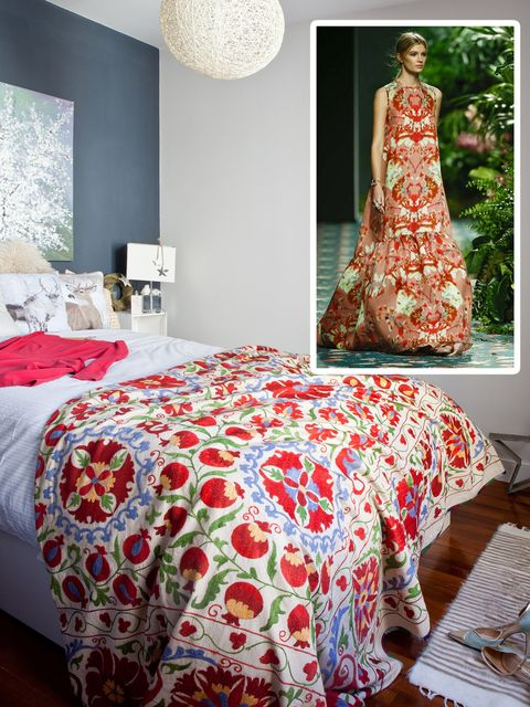 Room, Bed, Interior design, Textile, Red, Bedding, Bedroom, Bed sheet, Linens, Wall,
