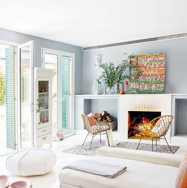 Room, Interior design, Textile, Wall, Home, Furniture, Floor, Interior design, Orange, Linens,