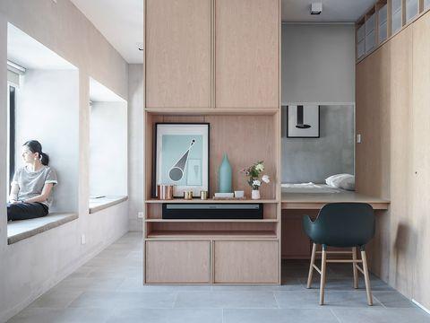 Floor, Interior design, Room, Flooring, Wall, Ceiling, Interior design, Tile, Fixture, Light fixture,