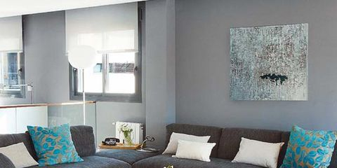 Room, Interior design, Green, Floor, Property, Living room, Home, Furniture, Flooring, Wall,