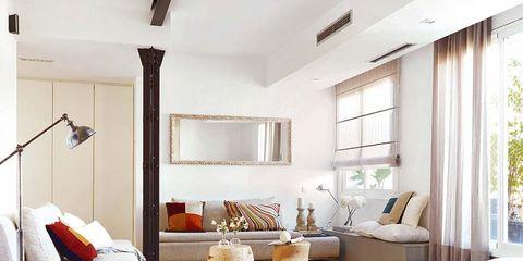 Wood, Room, Interior design, Floor, Wall, Flooring, Furniture, Living room, Home, Ceiling,