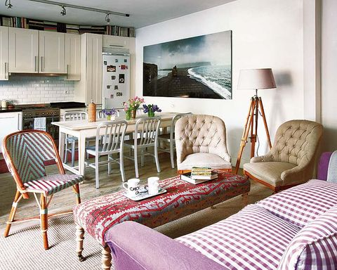 Wood, Room, Interior design, Furniture, Textile, Home, Floor, Wall, Linens, Chair,