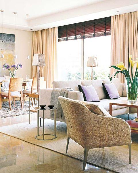 Interior design, Room, Floor, Flooring, Furniture, Interior design, Chair, Home, Window treatment, Window covering,