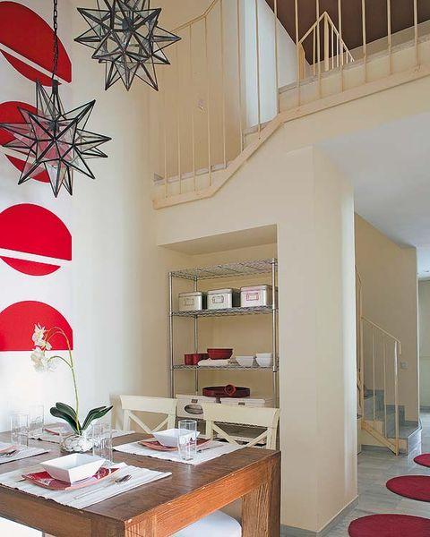 Interior design, Room, Wall, Table, Furniture, Floor, Interior design, Ceiling, Carmine, Home,