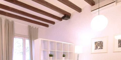 Interior design, Room, Furniture, Ceiling, Property, Floor, Building, Table, House, Wall,