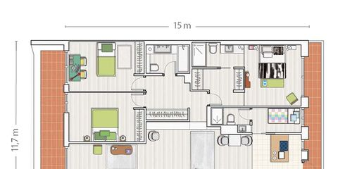 Plan, Line, Schematic, Parallel, Rectangle, Floor plan, Map, Square, Drawing,