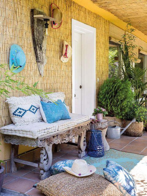 La casa de Mayte Gálvez, autora del blog Mytenida, porche