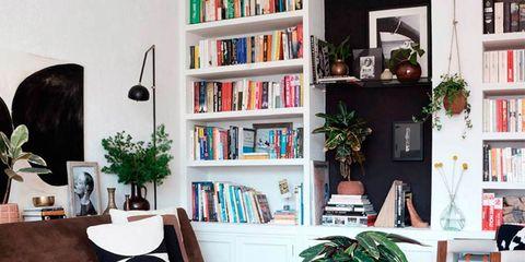 Room, Interior design, Wood, Living room, Home, Furniture, Wall, Shelf, Table, Shelving,