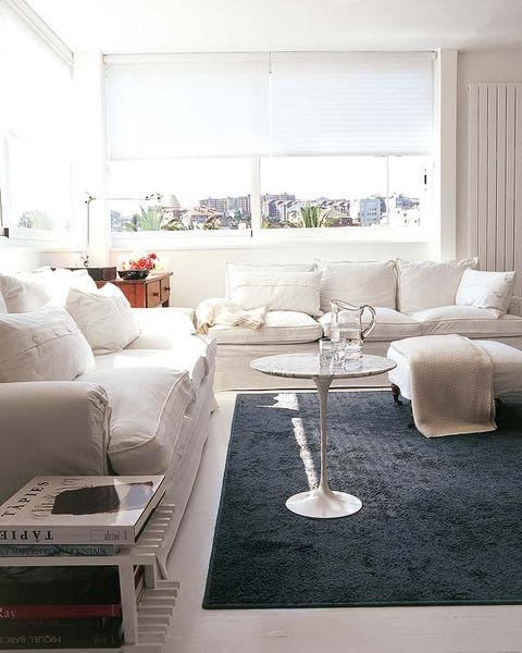 Room, Interior design, Floor, Living room, Home, Wall, White, Furniture, Table, Couch,