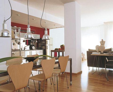 Wood, Interior design, Room, Floor, Furniture, Table, Hardwood, Flooring, Ceiling, Interior design,